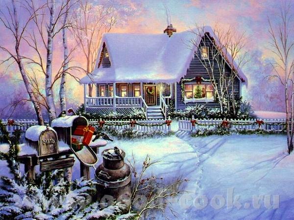 Рождественские картины =================== - 4