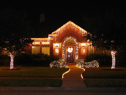 Каждое Рождество наш район украшается огнями