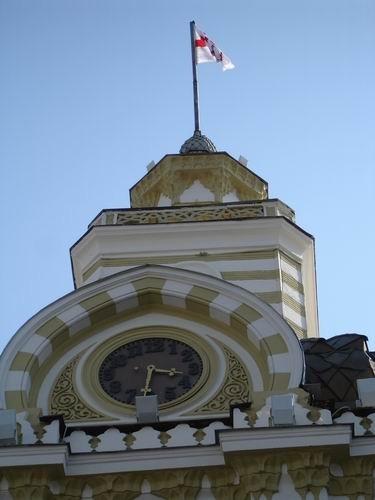 И снова ратуша башенные часы - 2