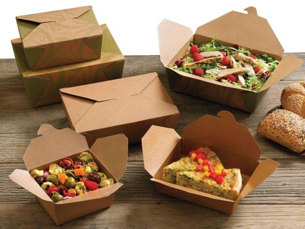 картонная упаковка для продуктов