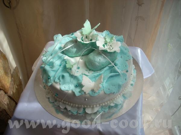 Крестильный тортик - 3