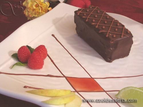 Следующее пирожное по вкусу напоминает большую шоколадную конфету
