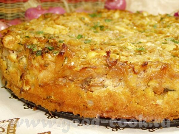 Тарталетки с тунцом и зеленым горошком Пирог с капустой,мясом и яйцами - 2