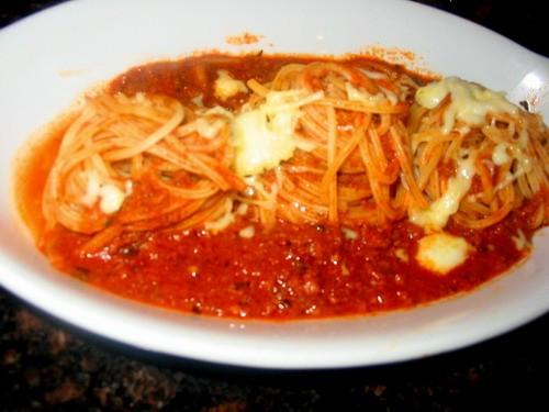 Куринная грудка фаршированная грибами с картофелем Жарила сайду в сырной корочке Еще были спагетти... - 3