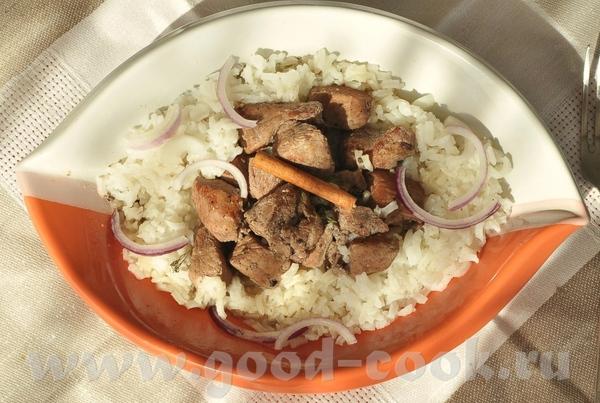 блюдо родом с Кипра- тушёная свинина с вином, корицей и кардамоном