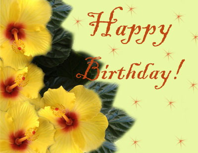 Аня, поздравляю с днем рождения