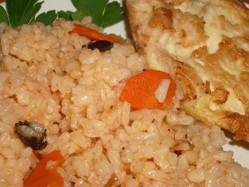 Наш вчерашний ужин - куриный бульон тушеная капуста с морковкой (худеем, девочки, худеем - 3