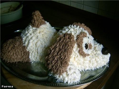 "а у меня вот такой торт ""нарисовался"""