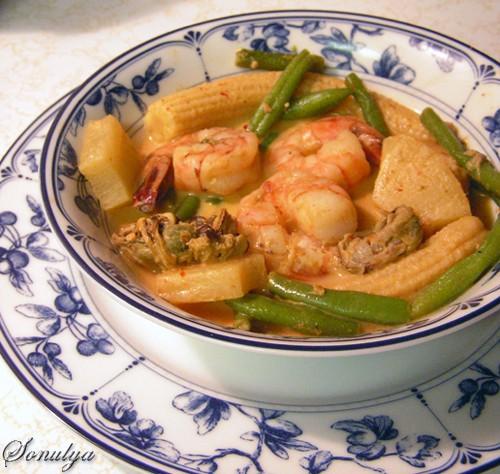 А мы продолжаем Тай-скую тематику Вчера кушали Суп-карри с морепродуктами и ананасом от belochki с...