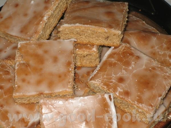 Спасибо Леночке- за рецепт такого быстрого, ароматного и вкусного Lebkuchen Пряничный пирог