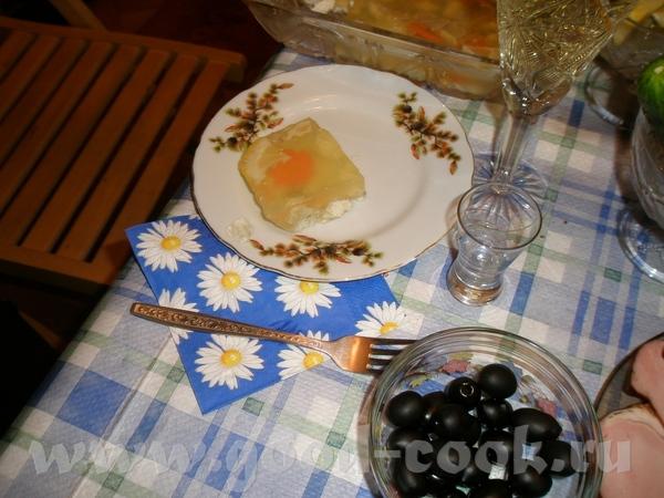 Тортики чуть разбавлю Заливная рыба по рецепту Нины-Basja Слова автора (мои изменения синим цветом)... - 2