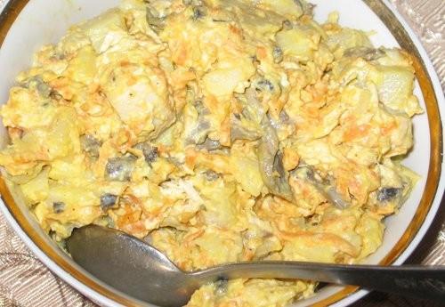 """А я с салатом, с : Салат """"Лисий хвост"""" от crimchanca Этот салат прочно поселился у нас дома и без н..."""