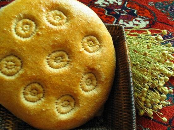 Девочки принимайте и туркменскую кухню Лепешка
