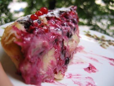 несу рецепт ягодного пая,от Сони-бухгалтера с кукинга сливочно-ягодный пай 200-250 г готового слоен... - 3