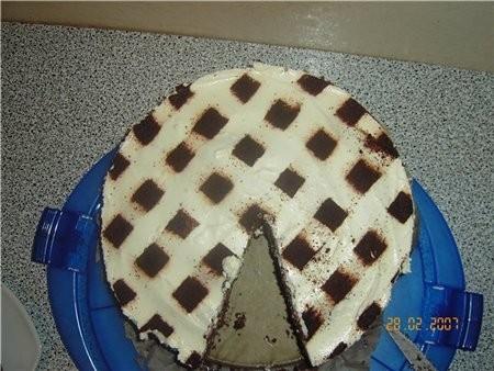 Вот такой я готовила торт, очень простой рецепт, и готовиться легко,на вкус очень вкуспый и лёгкий,...