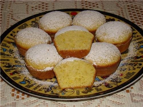 Песочные кексы рецепты с пошагово