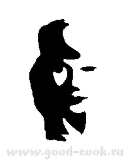 Перевернем предыдущую картинку… Это мужчина с саксофоном или женщина в тени - 3