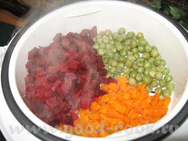 Овощи на винегрет и салаты Я сегодня сделала это - 2