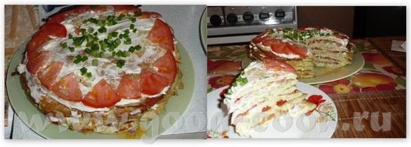 По Наташиному совету решила действительно сделать галерею кабачкового тортика с вашими замечательны... - 2