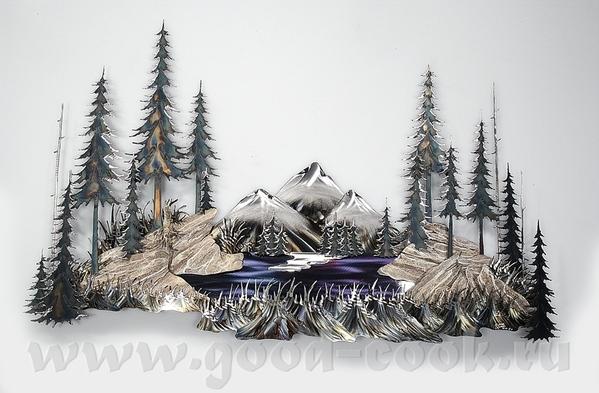 Очень интересно работает Donnie Wanner это art metal wall sculpture- металлическая стенная скульпт... - 3