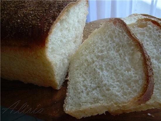 Хлеб для тостов и сендвичей 1