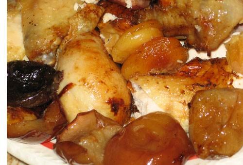 Фруктовая курочка Курица кисло-сладкая с помидорами