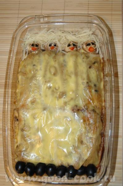 Предлагаю вашему вниманию новое блюдо для детей под названием СПЯЩИЕ КРАСАВИЦЫ Идея стибрена с журн...