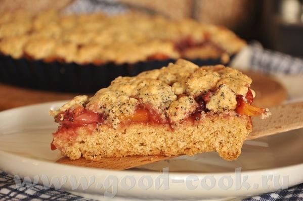 только что испекла Песочный пирог с малиной - блюда от Мимозы - 2