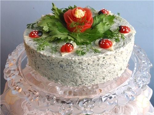 Еще пару фоток торта