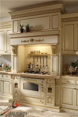 Как вам кухни в царском стиле - 3