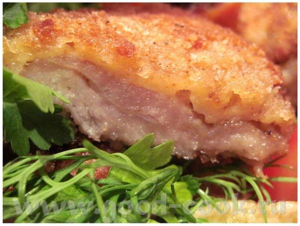 Шницель оригинальный Мякоть свинины 1,5кг