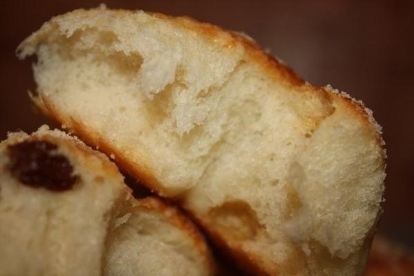БУЛОЧКИ ШКОЛЬНЫЕ Пекла половину порции, получился целый противень достаточно больших булочек - 2