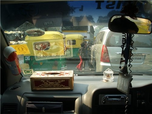 несколько фотографий индийских улиц - 2
