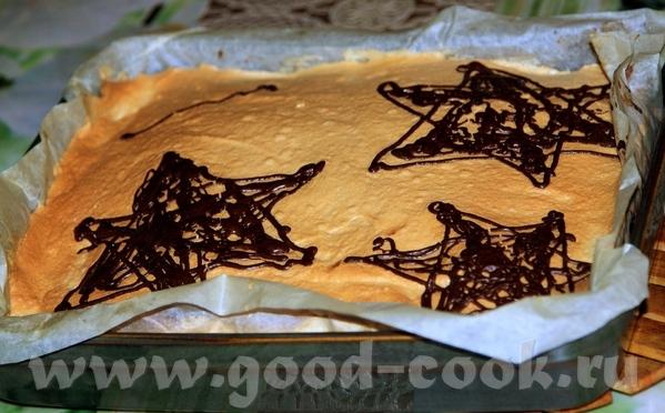 А вот мой пирог на День Независимости Израиля и разрезик