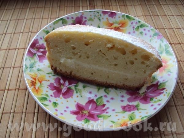 Спасибо БабЛене за вкусный ЛИМОННЫЙ ПИРОГ Пирог печется очень быстро