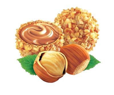 "ТОРТ ""GIOTTO"" Тесто: 150 г маргарина 150 г сахара 4 яйца 200 г молотого лесного ореха 50 г муки 1 ч - 3"