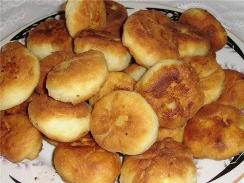 Пирожки с картошкой (тесто на кефире) Люба, спасибо