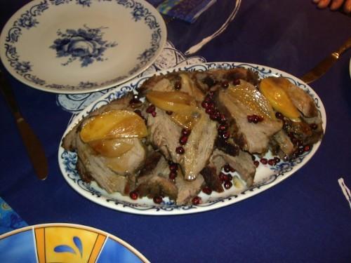 Это был наш скромный рождественсий ужин, прошу извинить качество фоток Салат с большой белой фасоль... - 2