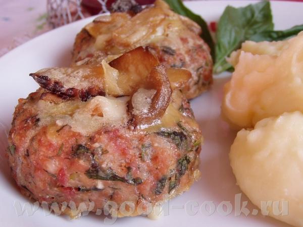 Картофельно-мясные корзиночки с грибами Бараньи стейки с луком и зеленью Картофель и лук,фарширован...