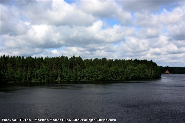 А вот такое там небо … Рощинское озеро Развалины монастырской пекарни, которая, кстати, снабжала хл... - 5