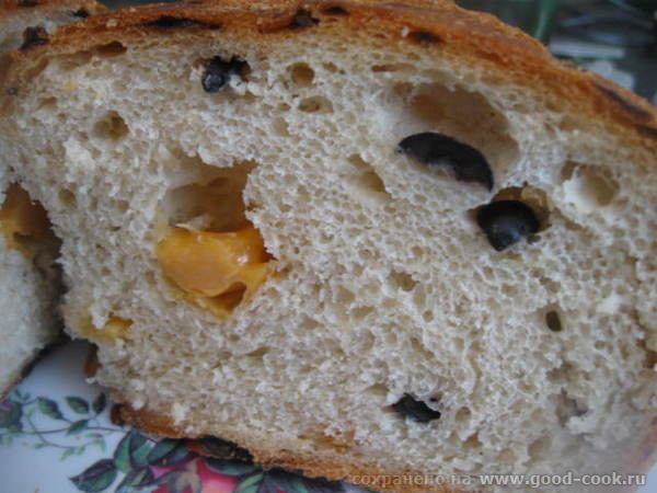 ГРЕЧЕСКИЙ ХЛЕБ (с луком, маслинами и сыром Очень вкусный ароматный хлеб - 2