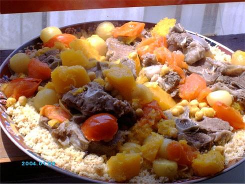 """А у меня сегодня традиционное палестинское блюдо из кускуса - """"Мафтуль"""""""
