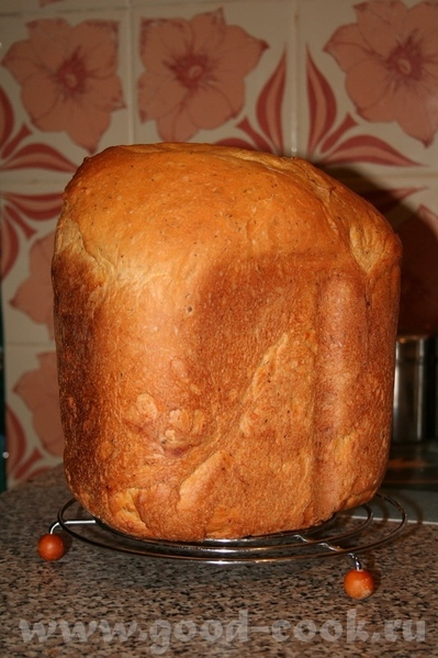 Хлеб белый с чесноком, томатом и укропом - 3