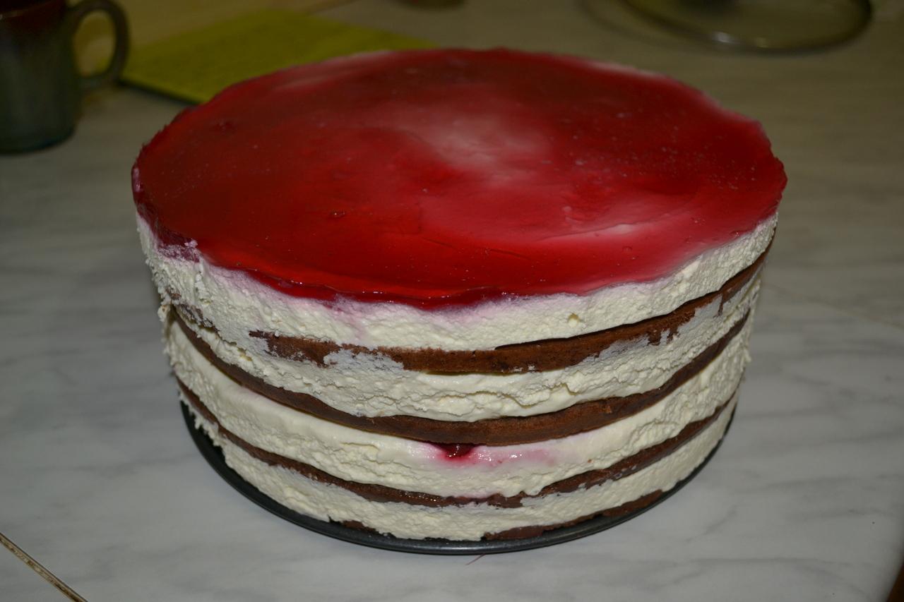 заготовка торта