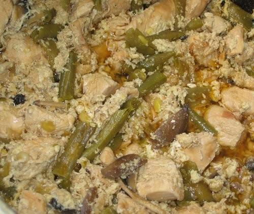 Куриные грудинки в вине с овощами Курица с баклажанами - 2