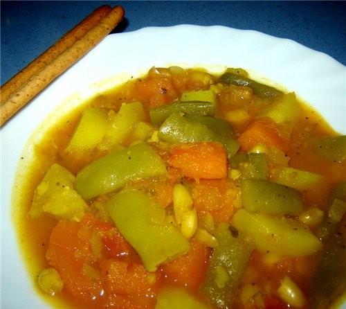 OLLA GITANA MURCIANA ЦЫГАНСКИЙ КОТЕЛОК Это типичное блюдо мурсианского региона и юга Аликанте