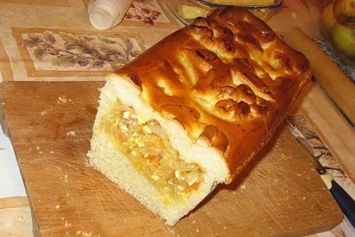Пирог с капустой - 2