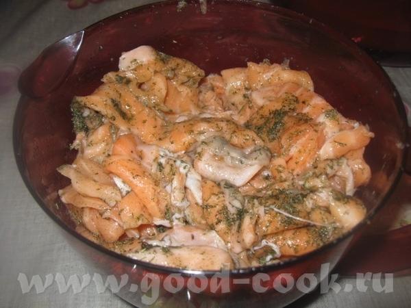 СЛИВОЧНО - РЫБНАЯ ЗАКУСКА ИЗ СЕМГИ Очень вкусная, нежная, тающая во рту закуска из рыбы - 4