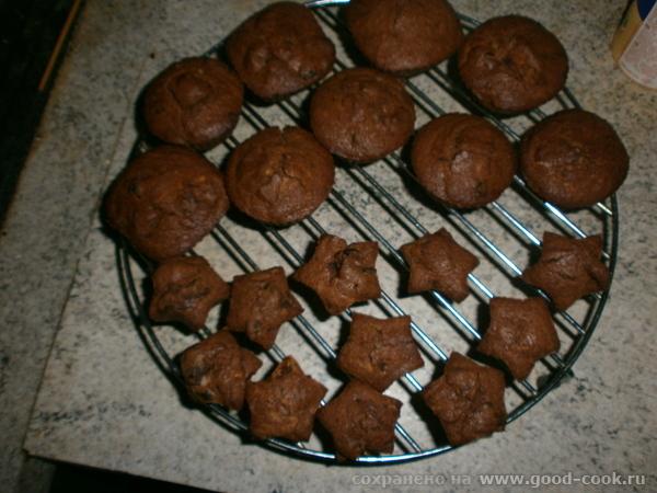 Шоколадные маффины с черносливом(из рисовой муки)