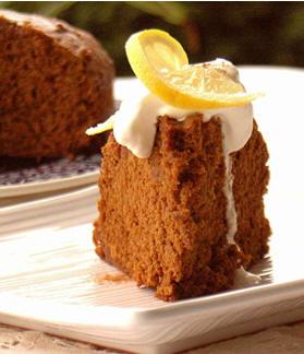 Пряный Кекс с Лимонной Глазурью ( Gingerbread with Lemon Glaze) 1/3 чашки масла порезанного на мале...